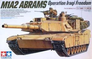 TAMIYA 1/35 35269 M1A2 ABRAMS OPERATION IRAQI FREEDOM