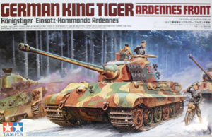 TAMIYA 1/35 35252 KING TIGER ARDENNES FRONT