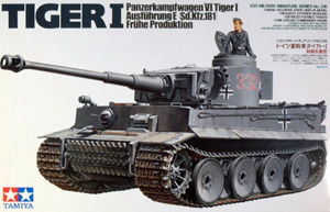 TAMIYA 1/35 35216 TIGER I Ausf.E FRUHE PRODUCTION