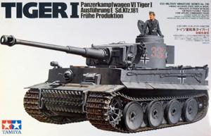 TAMIYA 1/35 35216 TIGER I Ausf.E FRUHE PRODUCTION