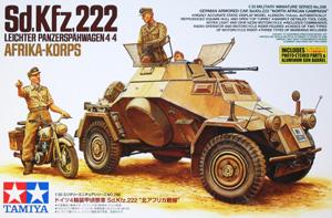 TAMIYA 1/35 35286 Sd.Kfz 222 AFRIKA KORPS