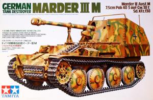 TAMIYA 1/35 35255 GERMAN TANK DESTROYER MARDER III M