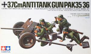 TAMIYA 1/35 35035 37mm ANTI-TANK GUN PAK35/36