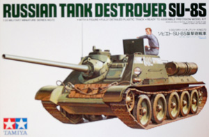 TAMIYA 1/35 35072 SU-85 RUSSIAN TANK DESTROYER