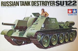 TAMIYA 1/35 35093 RUSSIAN TANK DESTROYER SU-122