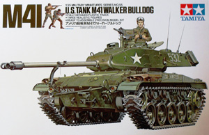 TAMIYA 1/35 35055 M41 WALKER BULLDOG