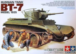 TAMIYA 1/35 35309 RUSSIAN BT-7 MODEL 1935