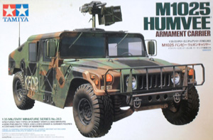 TAMIYA 1/35 35263 M1025 HUMVEE ARMAMENT CARRIER