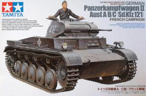 TAMIYA 1/35 35292 PANZERKAMPFWAGEN II Ausf.A/B/C