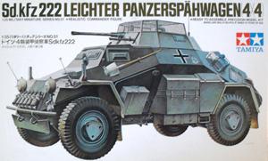 TAMIYA 1/35 35051 Sd.Kfz. 222