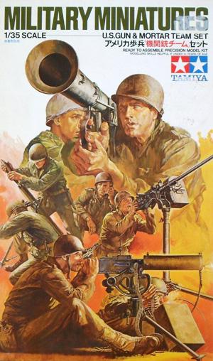 TAMIYA 1/35 35086 US GUN   MORTAR TEAM