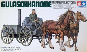 TAMIYA 1/35 35103 GERMAN FIELD KITCHEN GULASCHKANONE