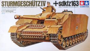 TAMIYA 1/35 35087 STURMGESCHUTZ IV Sd.Kfz 163