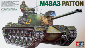 TAMIYA 1/35 35120 M48A3 PATTON