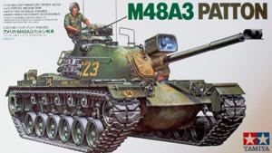 TAMIYA 1/35 35120 M48A3 PATTON