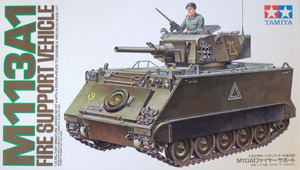TAMIYA 1/35 35107 M113A1 FIRE SUPPORT VEHICLE
