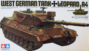TAMIYA 1/35 35112 WEST GERMAN TANK LEOPARD A4