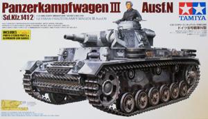 TAMIYA 1/35 35290 PANZERKAMPFWAGEN III Ausf.N