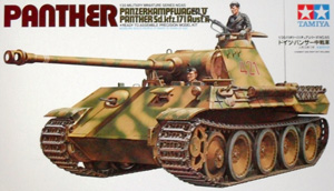 TAMIYA 1/35 35065 GERMAN PANTHER MEDIUM TANK