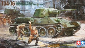 TAMIYA 1/35 35149 T34/76 ChTZ VERSION 1943 PRODUCTION