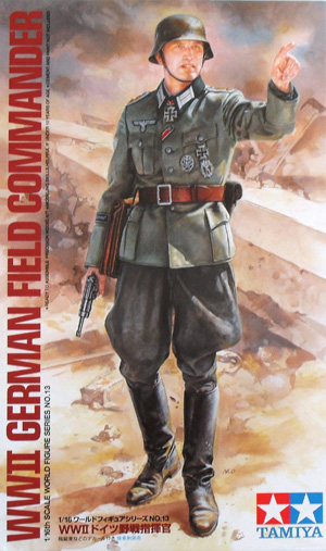 TAMIYA 1/16 36313 WWII GERMAN FIELD COMMANDER