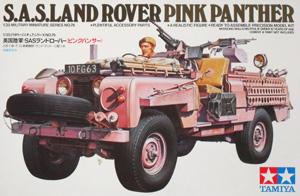 TAMIYA 1/35 35076 SAS LAND ROVER PINK PANTHER
