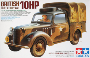 TAMIYA 1/35 35308 10HP BRITISH UTILITY CAR TILLY