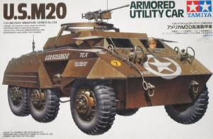 TAMIYA 1/35 35234 US M20 ARMOURED UTILITY CAR