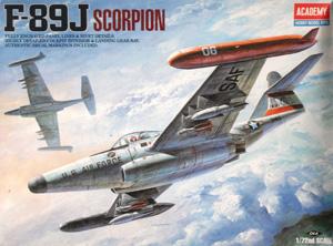 1/72 1628 F-89J SCORPION