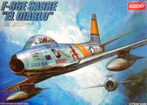 1/72 1681 F-86E SABRE EL DIABLO