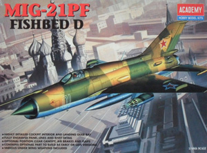 ACADEMY 1/48 2166 MiG-21PF FISHBED D