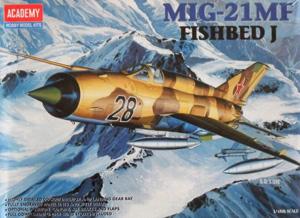 ACADEMY 1/48 2171 MiG-21MF FISHBED J