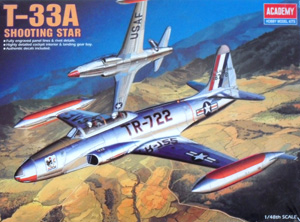 ACADEMY 1/48 2185 T-33A SHOOTING STAR