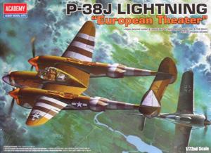 1/72 12405 P-38J EUROPEAN THEATRE