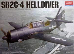 ACADEMY 1/72 12406 SB2C-4 HELLDIVER