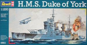 REVELL 1/1200 05811 H.M.S. DUKE OF YORK