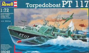 REVELL 1/72 05048 TORPEDO BOAT PT 117