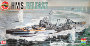AIRFIX 1/600 04212 HMS BELFAST