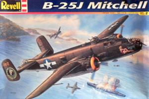 REVELL 1/48 5512 B-25J MITCHELL