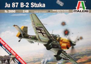 ITALERI 1/48 2690 JUNKERS Ju 87 B-2 STUKA