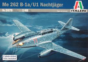 ITALERI 1/48 2679 MESSERSCHMITT Me 262 B-1a/U1 NACHTJAGER