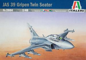 ITALERI 1/48 2664 JAS 39 GRIPEN TWIN SEATER