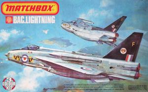 MATCHBOX 1/72 PK-114 BAC LIGHTNING F6/F.2A