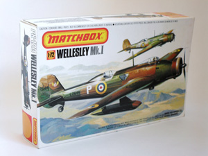 MATCHBOX 1/72 PK-123 WELLESLEY Mk.I