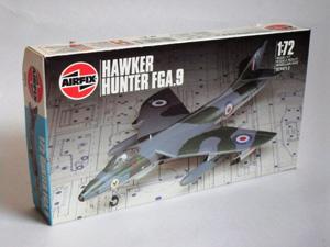AIRFIX 1/72 02073 HUNTER FGA.9