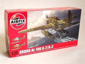 AIRFIX 1/72 02019 ARADO Ar 196 A-2/A-3