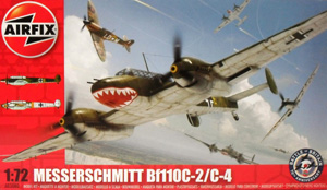 AIRFIX 1/72 03080 MESSERSCHMITT Bf 110C-2/C-4