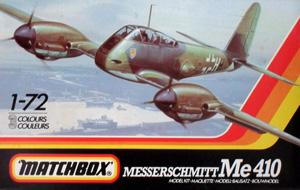 MATCHBOX 1/72 PK-113 MESSERSCHMITT Me 410 A2/U4
