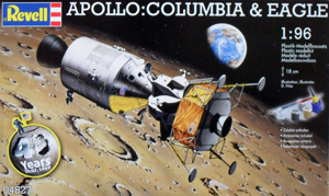 REVELL 1/96 04827 APOLLO COLUMBIA   EAGLE