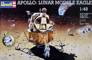REVELL 1/48 04828 APOLLO LUNAR MODULE EAGLE